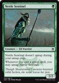 《イラクサの歩哨/Nettle Sentinel》FOIL【ENG】[A25緑C]
