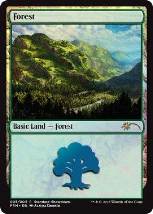 画像1: 《森/Forest》FOIL【ENG】[PRM土地S]