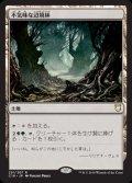 《不気味な辺境林/Grim Backwoods》【JPN】[C18土地R]