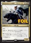 《ウィンドグレイスの騎士、アルイェール/Aryel, Knight of Windgrace》FOIL【JPN】[DOM金R]