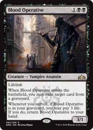 画像1: 《血の刺客/Blood Operative》【ENG】[GRN黒R]