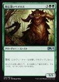 《用心深いベイロス/Vigilant Baloth》【JPN】[M19緑U]
