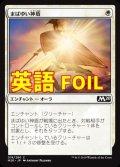 《まばゆい神盾/Glaring Aegis》FOIL【ENG】[M20白C]