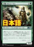 《土覆いのシャーマン/Loaming Shaman》【JPN】[M20緑U]