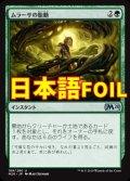 《ムラーサの胎動/Pulse of Murasa》FOIL【JPN】[M20緑U]
