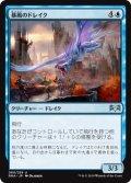 《暴風のドレイク/Windstorm Drake》【JPN】[RNA青U]
