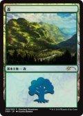 《森/Forest》FOIL【JPN】[PRM土地S]