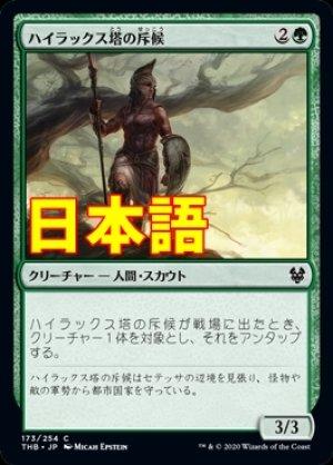画像1: 《ハイラックス塔の斥候/Hyrax Tower Scout【JPN】[THB緑C]