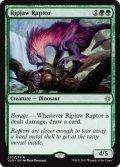 《切り裂き顎の猛竜/Ripjaw Raptor》【ENG】[XLN緑R]