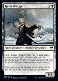 《残忍なドローガー/Grim Draugr(096)》【ENG】[KHM黒C]