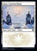 《冠雪の平地/Snow-Covered Plains(276)》【ENG】[KHM土地L]